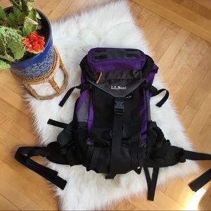 L. L. Bean hiking backpack